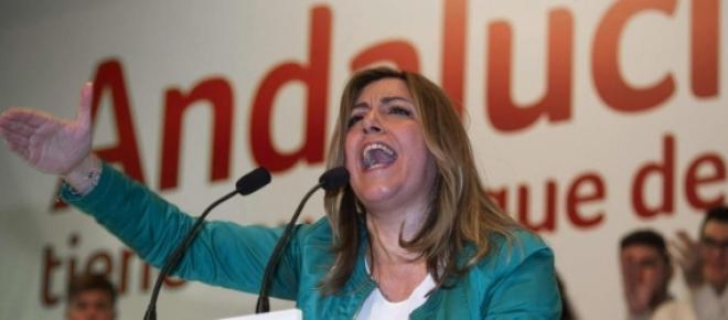 Susana Díaz ganadora de las elecciones andaluzas