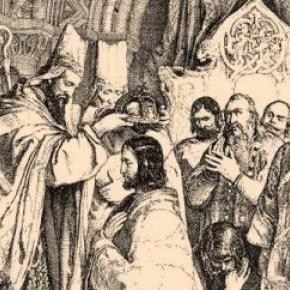 I. István nem a lengyel uralkodó koronáját hordta