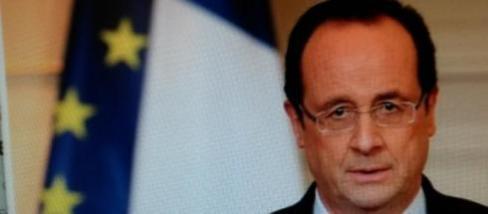 François Hollande pour la France et l'Europe.