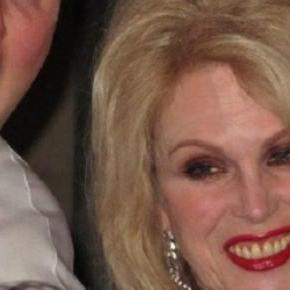 Lumley is supporting Bell's 'Barrel of Laughs'