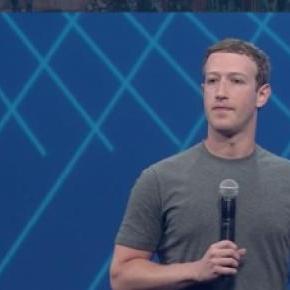 Mark Zuckerberg at F8 2015.