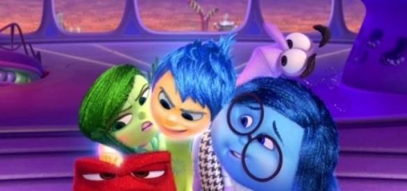 Cinema inside out è il nuovo cartone animato della pixar