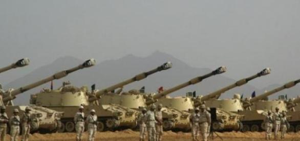 Saudi Arabia is ready to defend its border.