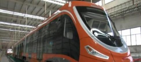 Hidrogénmeghajtású vonat - fotó: Xinhua