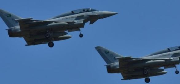 Royal Saudi Air Force fighters