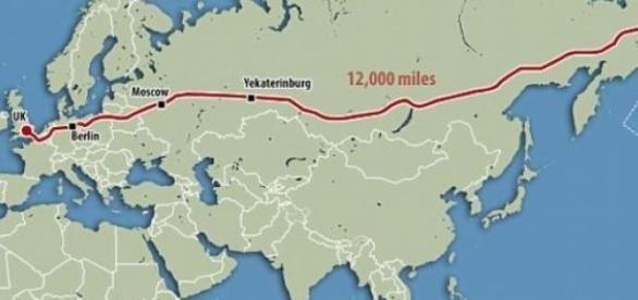 Traseul superautostrazii trans-euro-asiatica