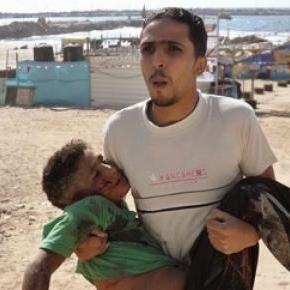 550 enfants sont morts en Palestine en 2014.