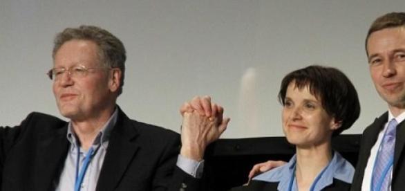AfDler Konrad Adam, Frau Petry und Bernd Lucke