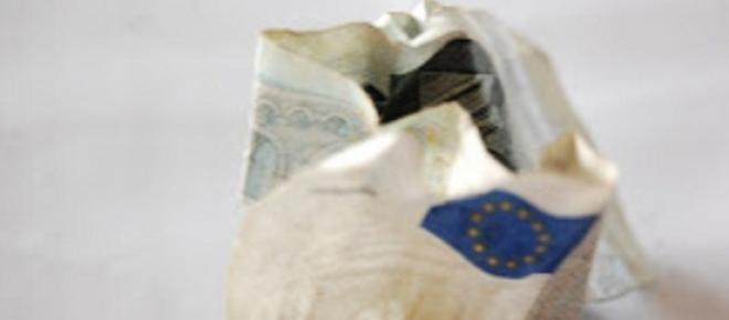 O euro está a perder a credibilidade económica nas soberanias.