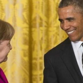 Intalnire intre Merkel si Obama la Casa Alba