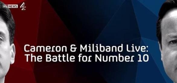 Cameron and Miliband Live