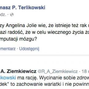 Facebook Terlikowskiego i Twitter Ziemkiewicza