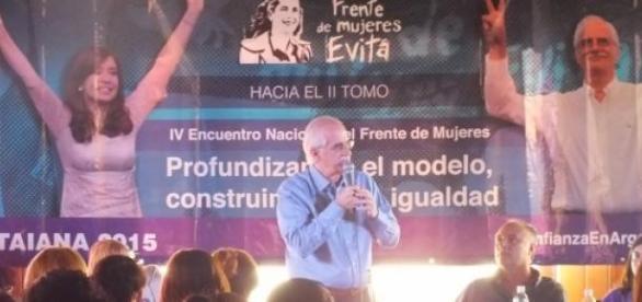 Cierre del Encuentro del Fte de Mujeres en Córdoba