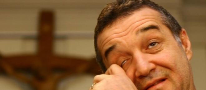 Gigi Becali s-a intors in penitenciar