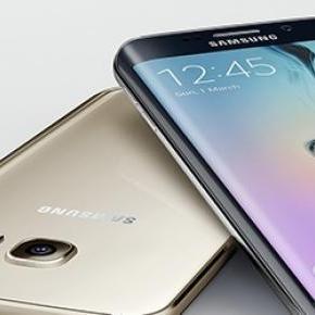 Das Samsung Galaxy S6 Edge. (Foto: Samsung)
