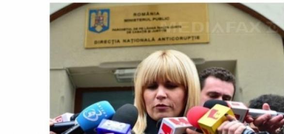 Elena Udrea in fata ministerului