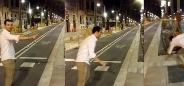 Imágenes del agresor de la mujer de Barcelona