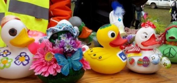 Jede Ente war auf ihre Weise ein Kunstwerk