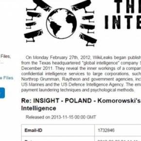 """WikiLeaks """"The Global Intelligence Files"""""""