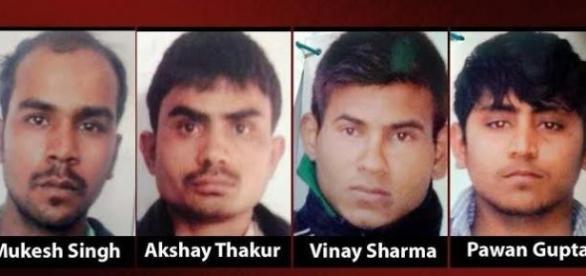 Os 4 condenados à pena capital na Índia