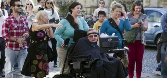 Hawking will appear in a sketch for Comic Relief