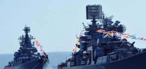 Nave militare ale Federatiei Ruse