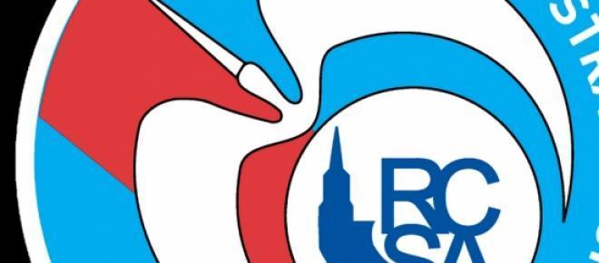 Le logo du Racing Club de Strasbourg.