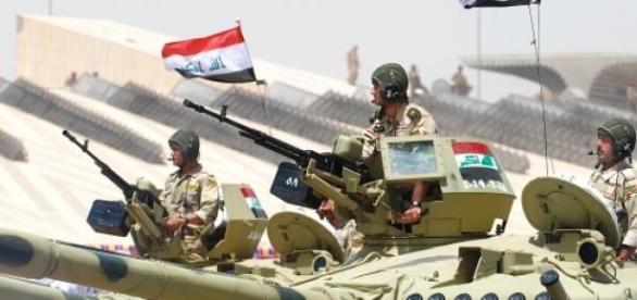 Armata irakiana a recucerit orasul Al-Baghdadi