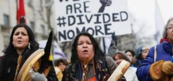 Divided no more: Aboriginal women demand justice