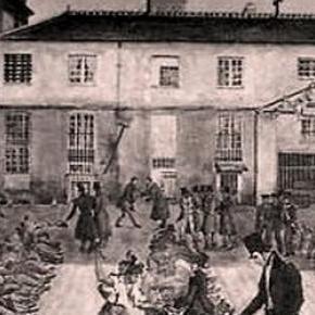 gravure du bagne de Toulon