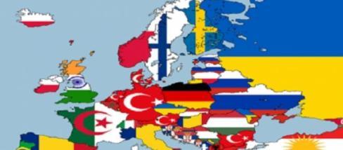 Európa térképe a kisebbségek alapján