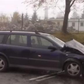 Wypadek Bielsko Biała źródło: YouTube