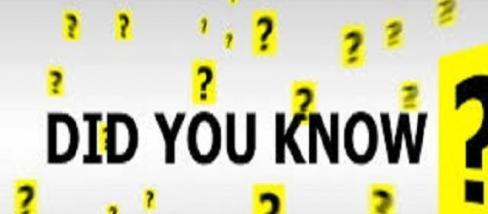 Te például tudtad, hogy....?