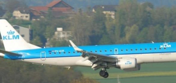 Foto: KLM Cityhopper Embraer ERJ-190.