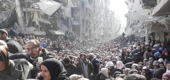 Jarmuk: Humanitäre Katastrophe in Lager