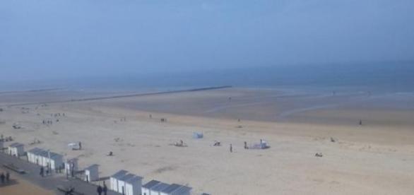 La Mer du Nord à Ostende. Photo (c) R. Genicot