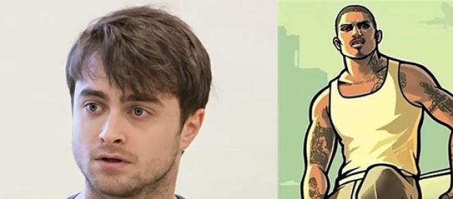 daniel radcliffe e um personagem do game