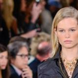 Anna Ewers bei der Ralph Lauren Fashion Show.