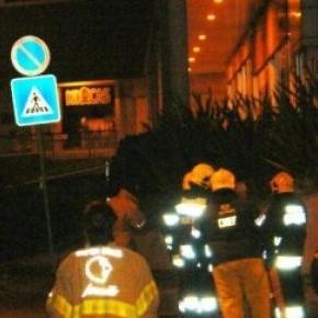 Bombeiros, GNR e EDP gás estiveram no local