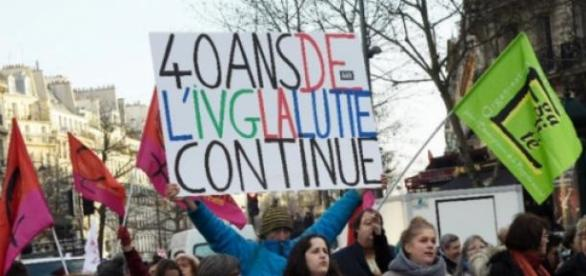 Les 40 ans de la loi Veil © L. Bonaventure - AFP