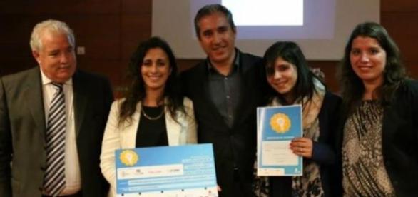 "Vencedoras do projecto ""Azeméis Youth Business""."