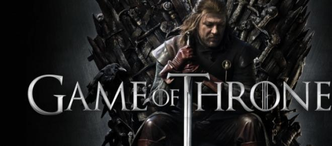 Poster da série de TV 'Game of Thrones'.