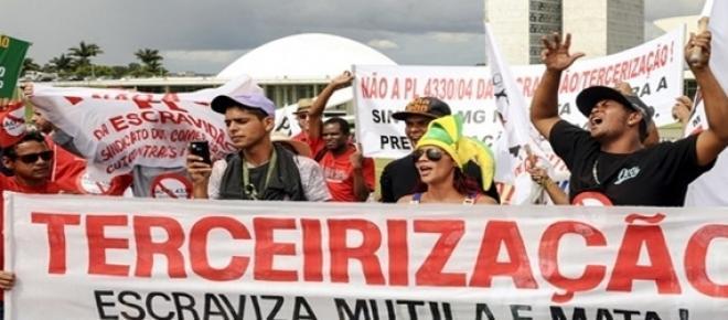 Com protestos em todo país, projeto é duramente criticado.
