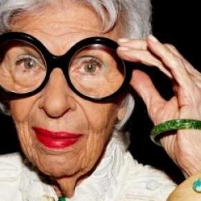 Iris Apfel a kortalan divatdiktátor.