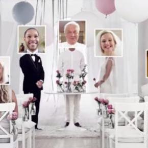 Le mariage en ligne chez Ikea