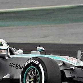 Lewis Hamilton took charge once again in China.