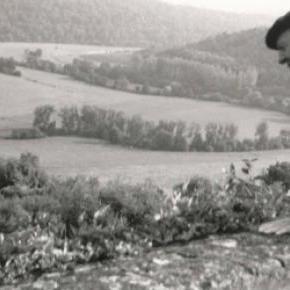 Maurice Carême, photo Jeannine Burny.