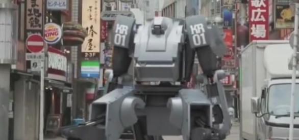 Japoński robot Kuratas - źródło YouTube