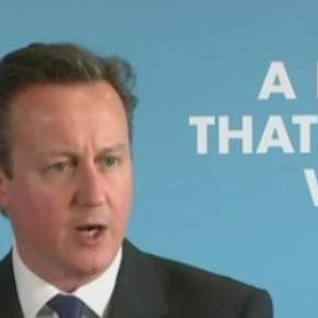 Cameron's Tory pledge: 'The Conservative Dream'