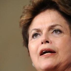 Dilma Rousseff a de graves problèmes au Brésil.